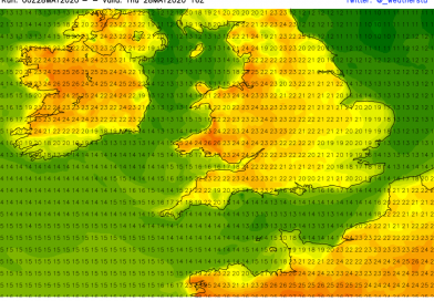 Daily Forecast – NW England